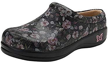 Alegria Classic Clog Walking Shoes for Concrete