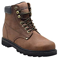 Ever Boots Tank Soft Toe Shoes