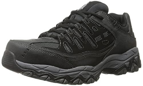 Skechers Cankton Athletic Steel Toe Work Sneaker