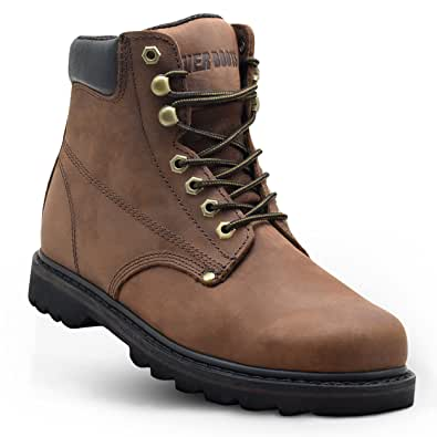 """Ever Boots """"Tank"""" Work Boots Construction"""