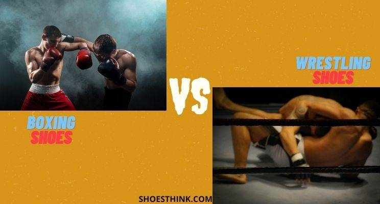 Difference between wrestling shoes and boxing shoes